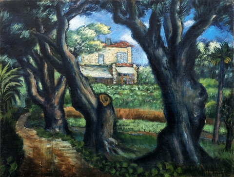 Hiša A. Renoirja, 1929
